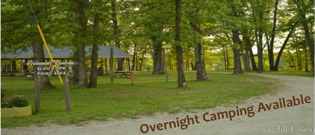 Overnight Camping Available